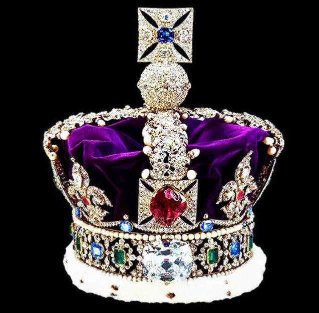Корона королевы Великобритании