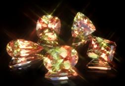 Султанит (диаспор) — камень-хамелеон, меняющий цвет