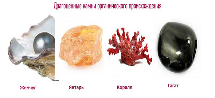 Органические камни